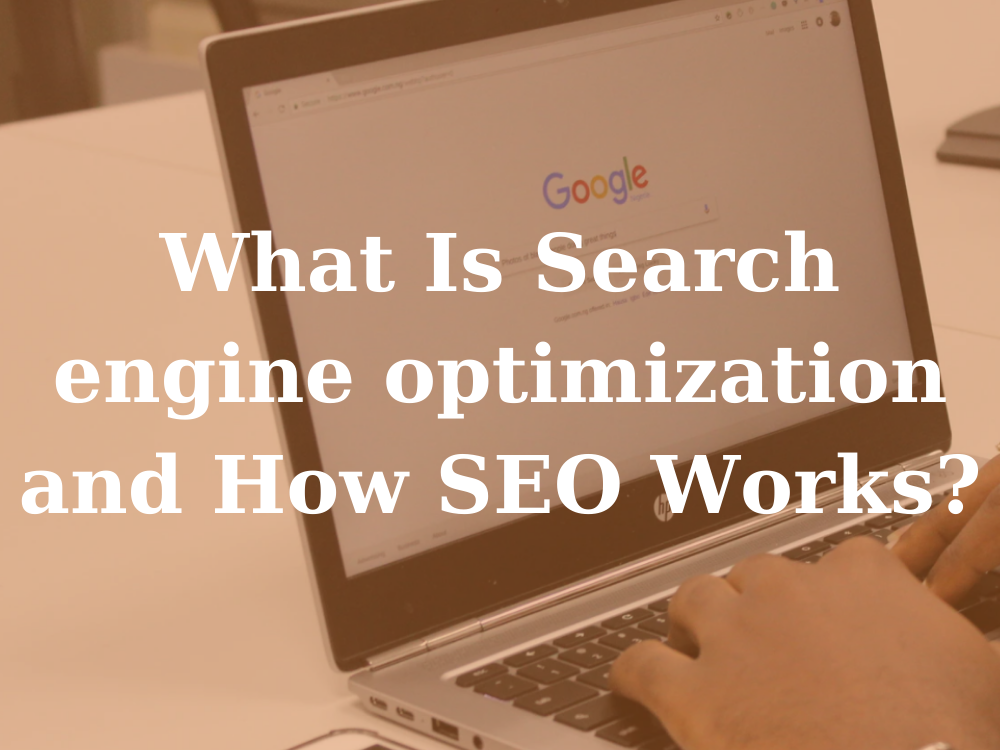 what is seo how does seo work how to rank faster in google